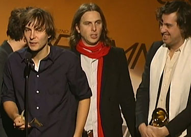 Phoenix Grammy speech - best alternative music album