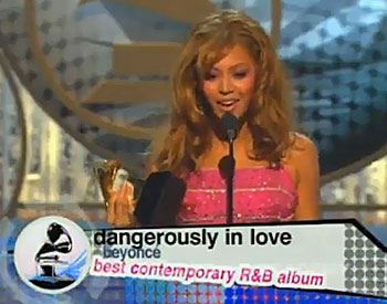beyonce 2004 grammy speech