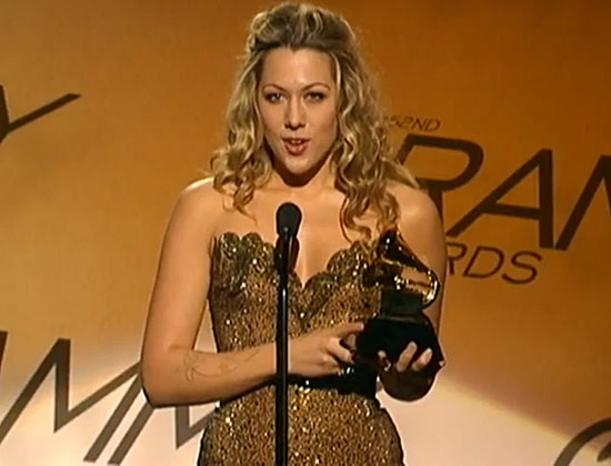 colbie caillat grammy speech